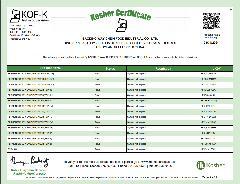 Kosher Certificate 2