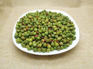 Fried green peas