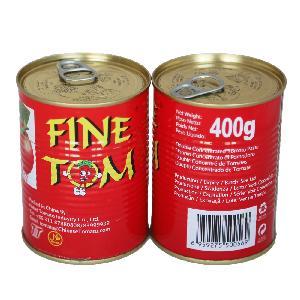 400g Tin Packing Tomato Paste