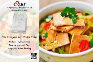 Transglutaminase for Chiba Tofu