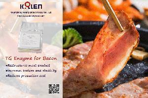 Transglutaminase for Bacon