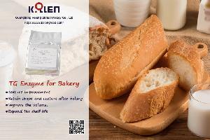 Transglutaminase for Bakery