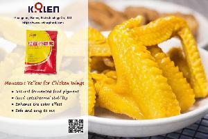 Monascus Yellow for Salty Chicken