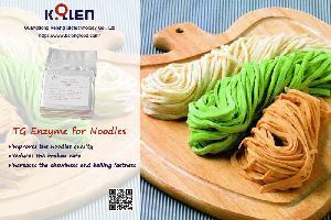 Transglutaminase for Noodles