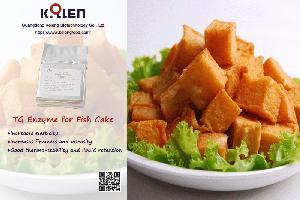 Transglutaminase for Fish Cake