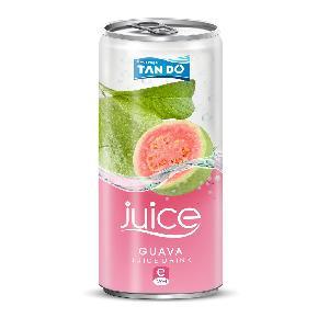 Wholesale Fruit Juice 330ml Guava Juice From Natural Fruit in VietNam