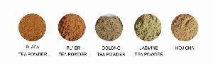 Jasmine green tea powder