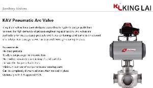 Sanitary Pneumatic Arc Valve