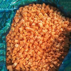 Frozen Carrot / Frozen IQF Diced Carrot