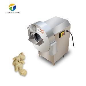 Industrial Automatic Potato Taro Ginger Shredder Cutting Machine (TS-Q50)