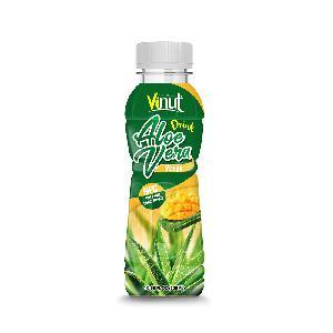 10.98 fl oz VINUT NFC Premium Aloe Vera Drink with mango