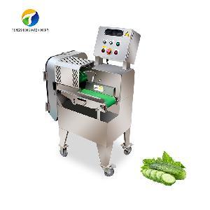 Single head electric vegetable cutting machine Eggplant slices TS-Q115A