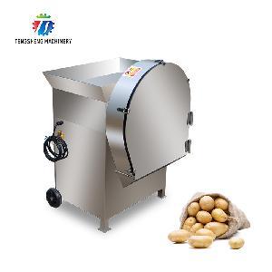 Industrial Vegetable Cutting Machine Potato Slicing and cutting machine TS-Q1500
