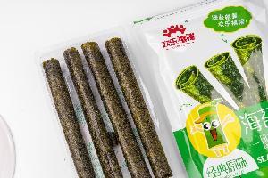 13.8g Original Flavor Snacks Food Seaweed Roll with Health Report