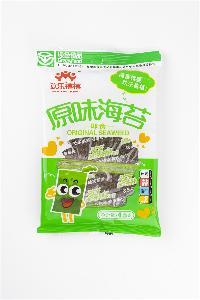 Green Seasoned Seaweed 3G in Traditional Craft