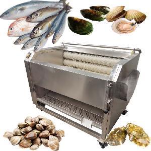 Water Saving Fish Washing Machine Shellfish Oyster Cleaning Washing Machine