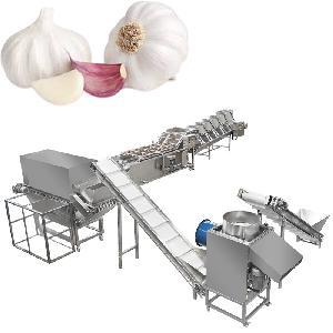 Industrial Garlic Peeling Machine Line Dried Garlic Peeler
