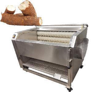 Nigeria Cassava Processing Cassava Peeler Garri Washing and Peeling Machine