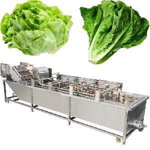 Industrial Green Leafy Vegetables Lettuce Washing Machine