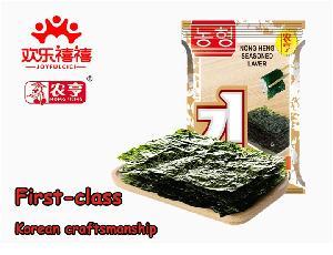 15g instant BBQ flavor nori seafood snacks