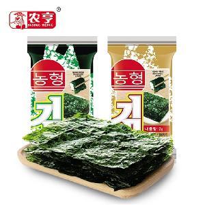 Spicy flavor 16g instant roasted algae seafood snacks