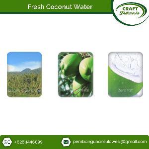 Fresh Organic Coconut Water