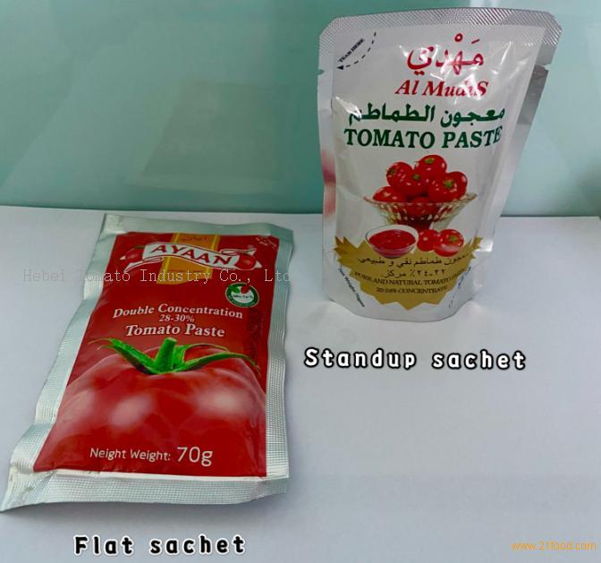 popular size 50g sachet tomato paste can do private brand