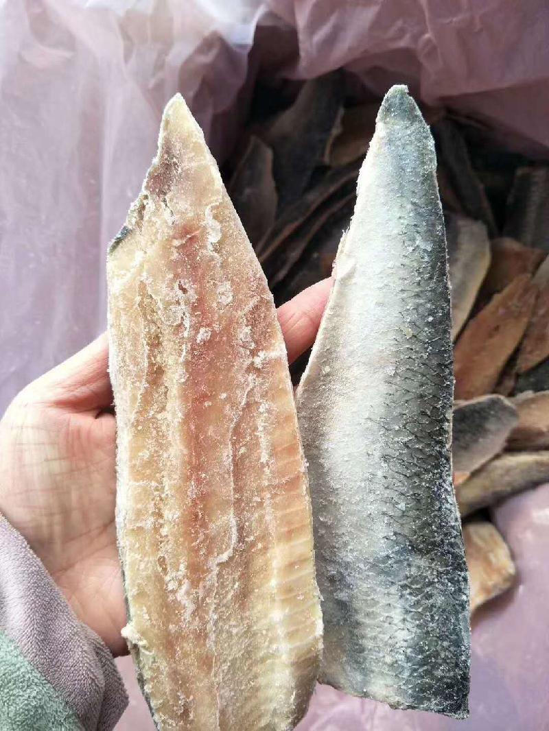 Frozen herring fillets