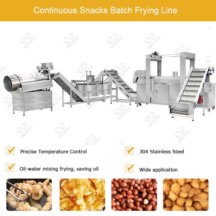 Automatic Peanut Frying Machine
