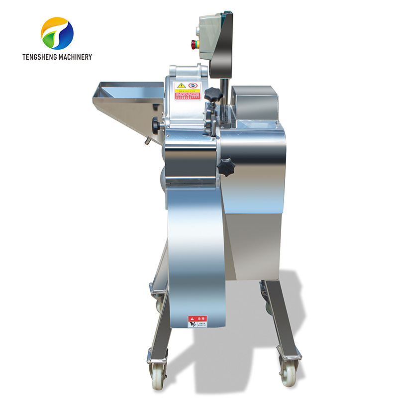 TS-Q180 Commercial Vegetable Cutter Apple Pineapple Carrot Fruit Dicing Cutting Machine