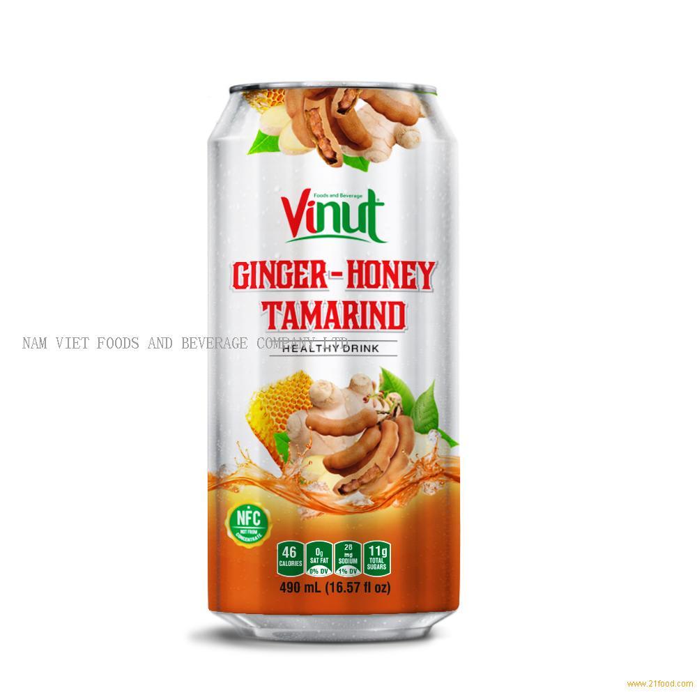 16.57 fl oz VINUT Ginger juice with Honey Tamarind