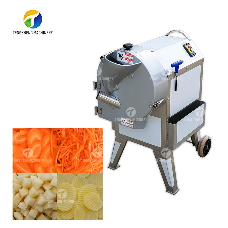 Automatic vegetable cutting machine large fruit dicing machine (TS-Q112)