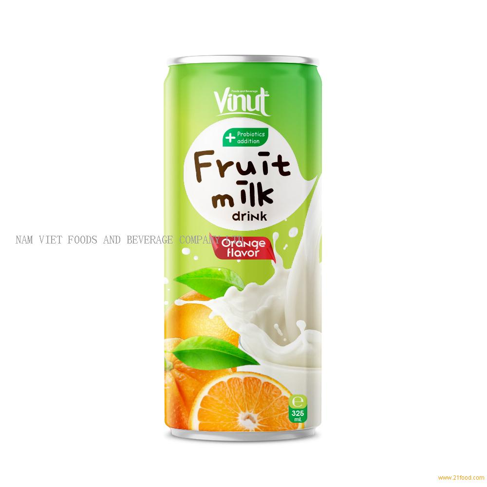 325ml VINUT Fruit Milk Drink Orange Flavor