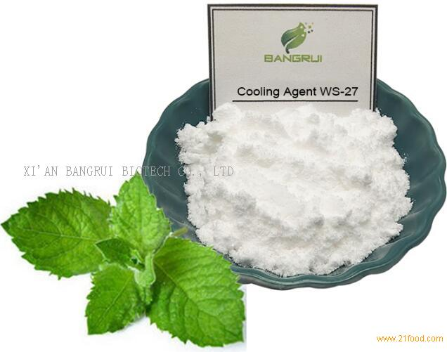 Best Quality Cooling Agent Flavoring Candy Ingredient WS-27 Powder