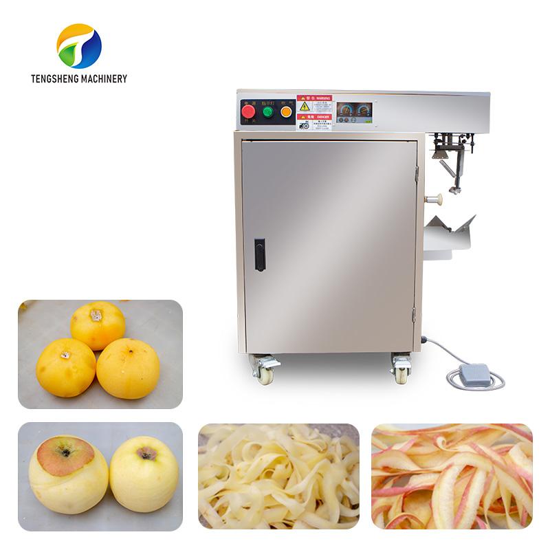 Apple and persimmon kiwi fruit peeling machine Potato peeling machine food processor (TS-P18S)