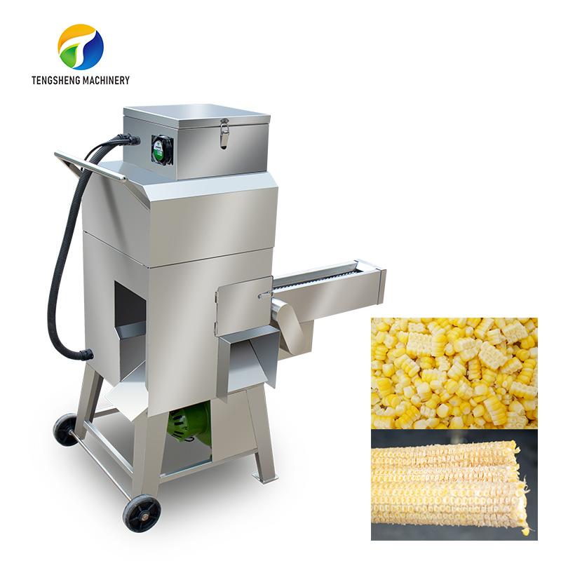 Industrial stainless steel corn thresher Sweet corn sheller (TS-W168L)