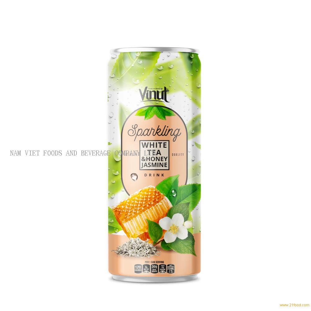 250ml VINUT Premium White tea and Honey Jasmine Sparkling water