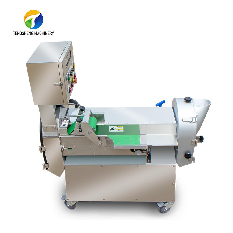 Industrial double head vegetable cutting machine potato chip machine (TS-Q118)