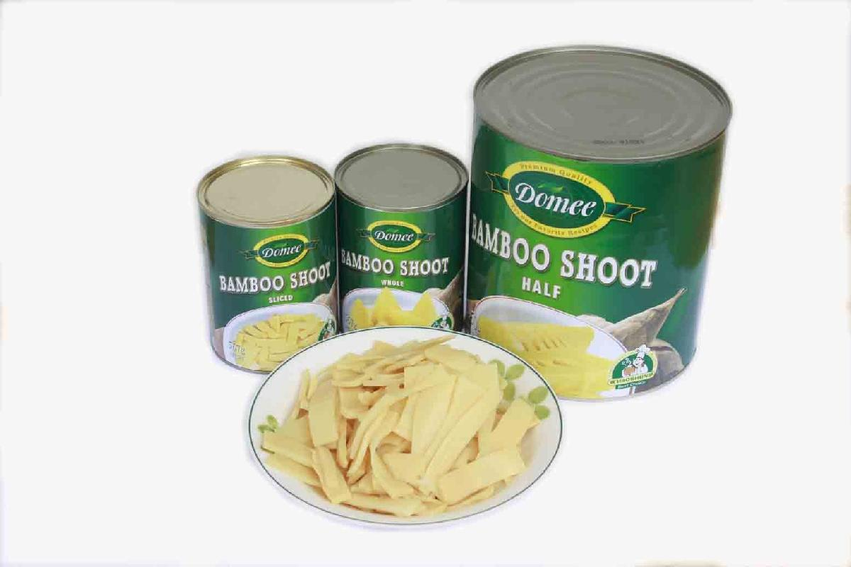 canned bamboo shoot in brine health canned food A10 tins