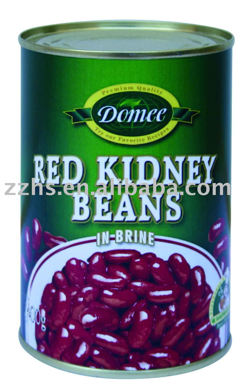 Canned Red Kidney Beans in brine, red kidney beans,canned vegetable