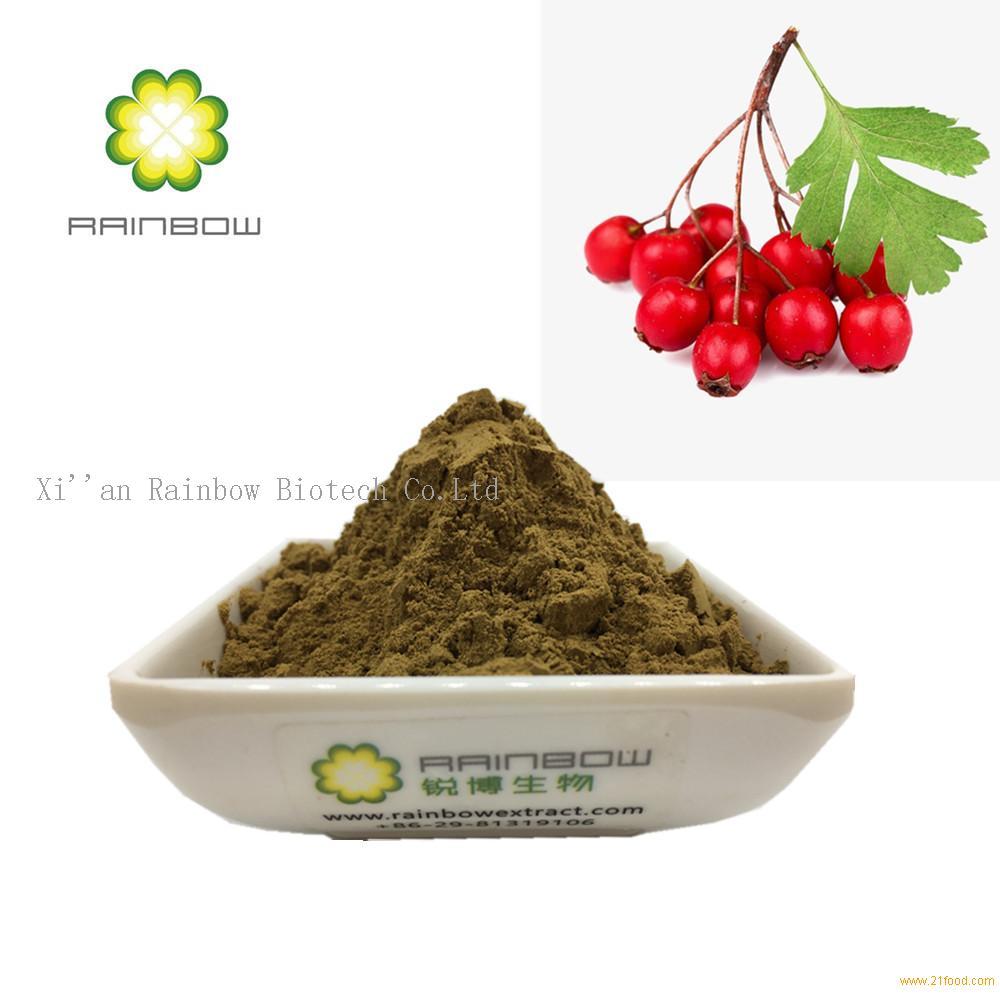 Hawthorn Extract-4.5% Vitexin-2-0-Rhamnoside flavone
