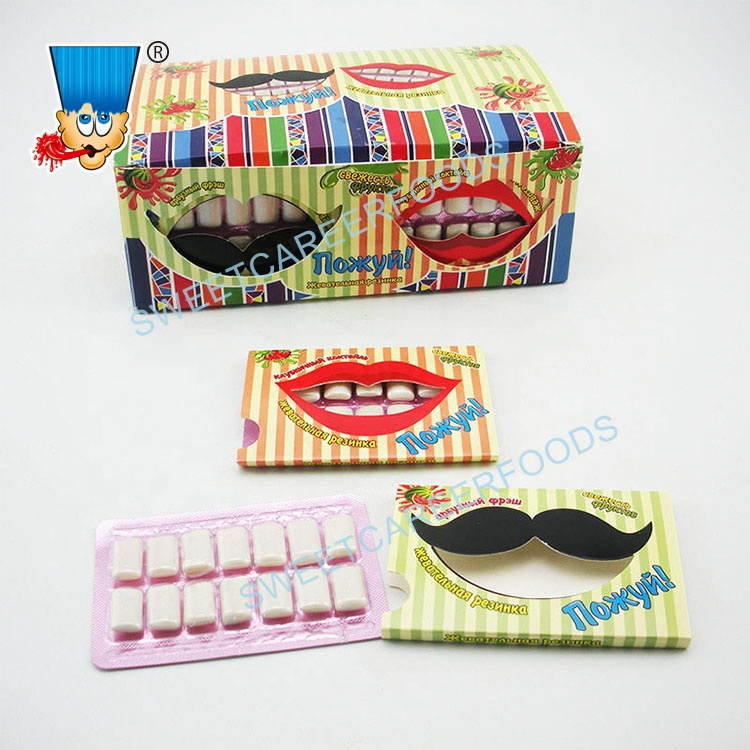 Big Mouth Fruit Flavour Chewing Gum