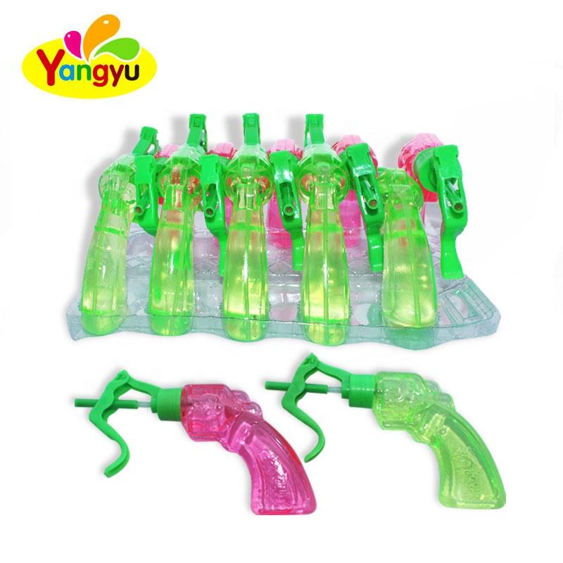 Small Size Gun Shape Acid Spray Liquid Candy