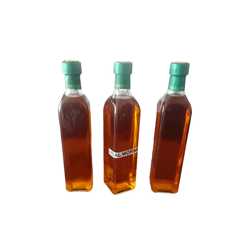 High protein pet food animals feed mealworm meal worm oil