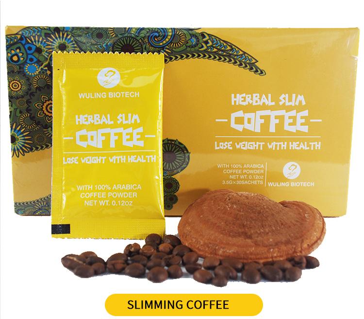 Organic Extract Ganoderma Lucidum Reishi Mushroom Coffee with Private Label