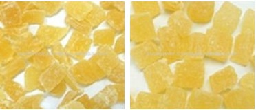 Pineapple Core Dice Natural new crop