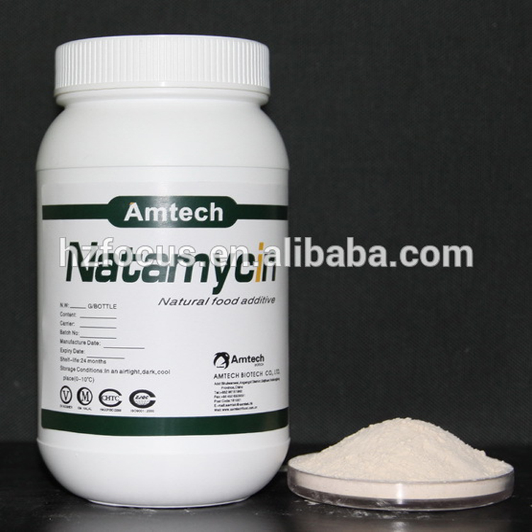 Manufacturer Supply Natural Food Preservative Natamycin Powder 99% 7681-93-8