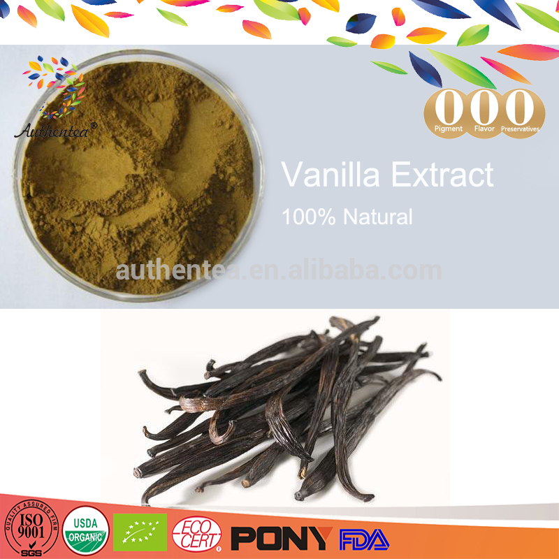 Hot sale 100% Pure Natural Vanilla Extract Powder Low Price