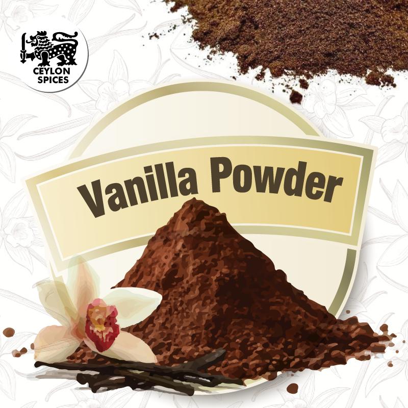 Organic Vanilla Powder Sri Lanka Premium Quality