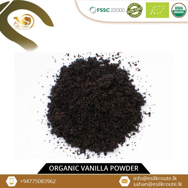 Ceylon Natural Vanilla Bean Powder for Brazil
